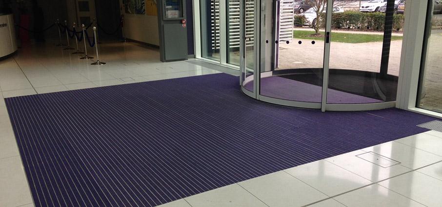 Tretford Design Range Entrance Matting Systems